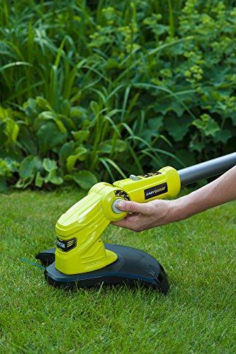 Ryobi OLT1832 18V ONE+ Cordless Grass Trimmer, 25-30cm Path (Zero Tool), 18 V, Hyper Green