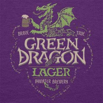 TEXLAB - Green Dragon Inn - Damen T-Shirt Violett