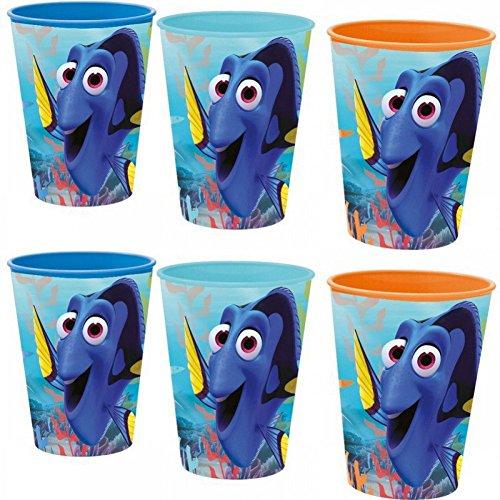 6pieza Disney findet Dory Vaso Zumo Vasos obsequios