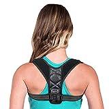 BauFt-D Geradehalter zur Haltungskorrektur für eine Gesunde Haltung, ideal zur Therapie für haltungsbedingte Nacken, Rücken und Schulterschmerzen Damen Herren