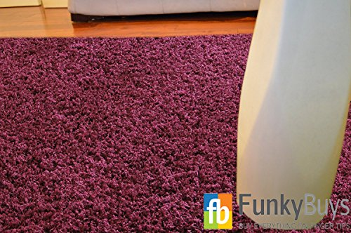 FunkyBuys® PURPLE Large Medium Small Size 200 x 290cm (6ft 7