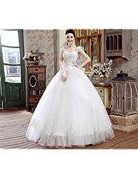 Amazon.it  abito da sposa sirena - 200 - 500 EUR   Abbigliamento ... 15cafc3245b