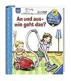 Ravensburger Junior Wieso? Weshalb? Warum? Kinder-Buch - An und aus - wie geht das?