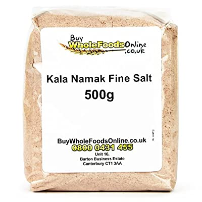 Kala Namak Fine Salt 500g from Buy Whole Foods Online Ltd.