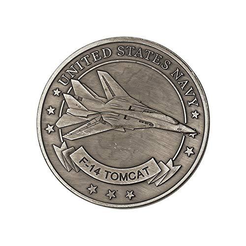 Xinmeitezhubao Gedenkmünze US Air Force F14 kämpfer medaillon Münze militär Abzeichen Geschenk Ornamente -