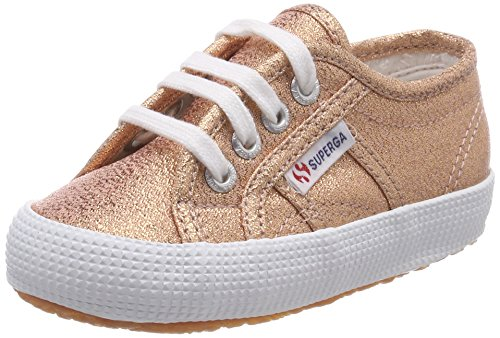 Superga Unisex-Kinder 2750-lamebumpj Sneaker, Pink (Rose Gold), 33 EU