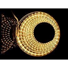 ogeled Z6010mm Slim LED Strip Striscia Strip, Je Meter 60LEDs 500lumen, 2835LED impermeabile IP68, Warmweiss 3000k, 15m