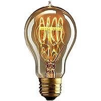 G19 DIMMABLE Vintage lampadina - quad ciclo filamento (vecchio stile Edison) E27 '