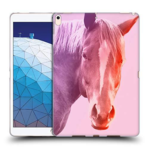 Head Case Designs Offizielle Mark Ashkenazi Pferd Pastell Portraits Soft Gel Huelle kompatibel mit iPad Air (2019) -