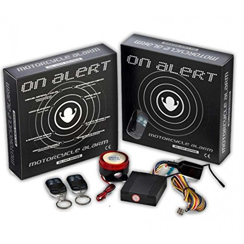 Alarm with remote control for motorcycle Universal AZ1VIBBSRC by On Board