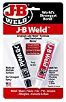 J-B Weld is The Original Cold Weld two-part epoxy system that provides strong, lasting repairs to metal and multiple surfaces. J-B Weld is The Original Cold Weld two-part epoxy system that provides strong, lasting repairs to metal and multiple surfac...