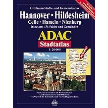 Hannover: Grossraum ADAC Stadtatlas 1:20000