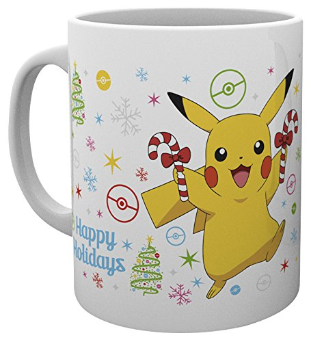 GB-Eye-LTD-Pokemon-Xmas-Pikachu-Taza