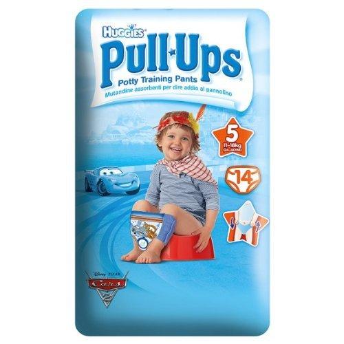 Huggies® Pull- UPSA ® Garçon Taille 5 11 18 kg - 6 x 14s