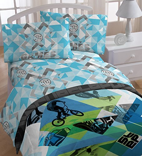 espn-x-games-sheet-set-twin-by-espn