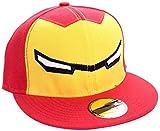 Iron Man Eyes Snapback-Cap rot/gelb