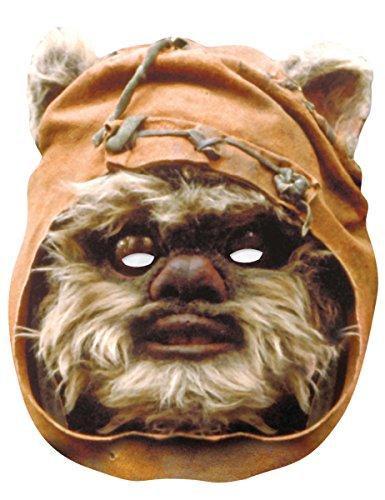 Ewok Kind Kostüm - Generique - Star Wars-Pappmaske Ewok braun