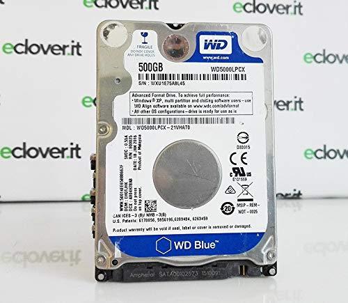 Price comparison product image HD 2.5 500 GB WD Blue SATA 5400rpm 8 GB Slim 6 mm