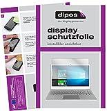 dipos I 2X Schutzfolie klar passend für Jumper EzBook 3 Plus Folie Displayschutzfolie