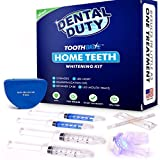 Professional Teeth Whitening Kit for Home Use - 30 Treatments - includes 2 Whitening Gel, 2 Tooth Remineralization Gel,Vitamin E Swabs and LED Whitener Light for Faster Results