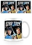 Kaffeetasse-Kirk & Spock