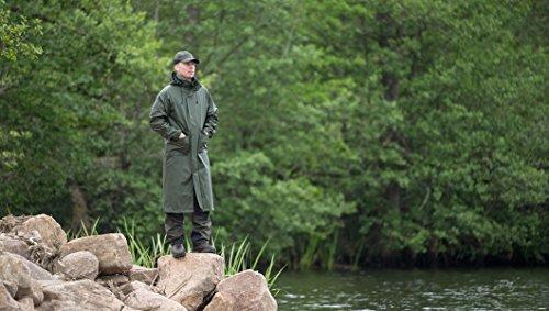 Pinewood Herren Gietness Regenmantel grün