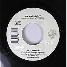 MR. PRESIDENT 45 RPM COCO JAMBO /