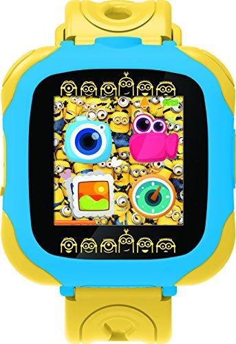 Reloj smartwatch de los Minions en amarillo