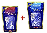 Lakse Kronch Original & Pocket -2x175g- Luxus-Snack - frischer Lachs