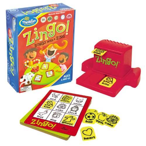 Think Fun Zingo - Bingo (en inglés)