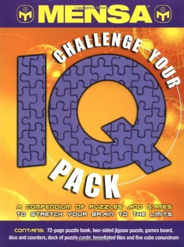 Mensa Challenge Your Iq Pack by Philip Carter (2002-10-28) Philip Lane