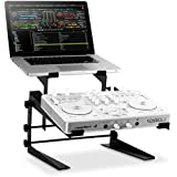 """Resident DJ DJX-250 soporte para portátiles (para portátiles entre 12 y 17"""", metálico, zonas de contacto con gomaespuma, base antideslizante, 2,9 kg de peso)"""