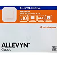 ALLEVYN Classic selbsthaftende Wundkompresse, 10cm x 10cm, 10Stück preisvergleich bei billige-tabletten.eu