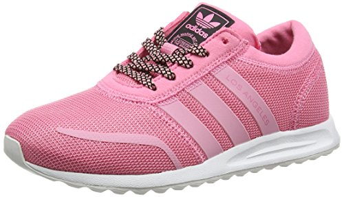 adidas Los Angeles, Stivaletti Unisex – Bambini Rosa (Easy Pink/easy Pink/ftwr White)