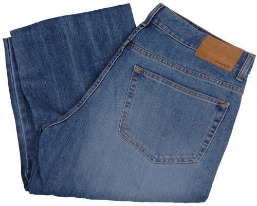 GANT Jeans da uomo pantaloni 2.Wahl, Model: TYLER, colore: blu, -- , nuovo ---, upe: 149,90 Euro blu W33 / L36