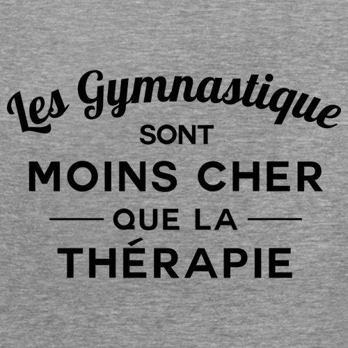Les gymnastique sont moins cher que la thérapie - Femme T-Shirt - 14 couleur Gris