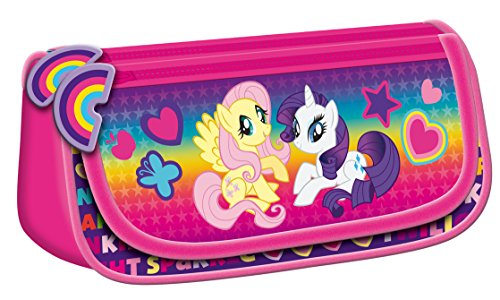 My little Pony Maxi & Mini PONY GROSSE SCHLAMPERROLLE FÜR DIE SCHULE, TROUSSE DE TOILETTE (Monster High My Little Pony)