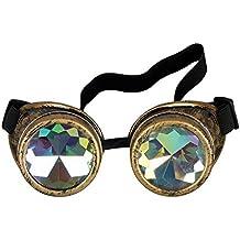 Gafas de cosplay de AFUT, caleidoscopios, gafas de disfraz, gafas arco iris con