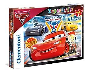 Clementoni 27072 Puzzle Puzzle - Rompecabezas (Puzzle Rompecabezas, Dibujos, Niños, Cars 3, Niño/niña, 6 año(s))