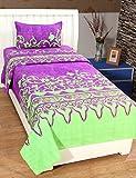 BSB Trendz 3D Printed Single Bedsheet Wi...