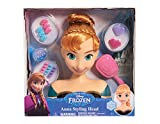 Disney – Frozen: El Reino del Hielo – Princesa Anna – Cabeza Estilo 20 cm con Accesorios