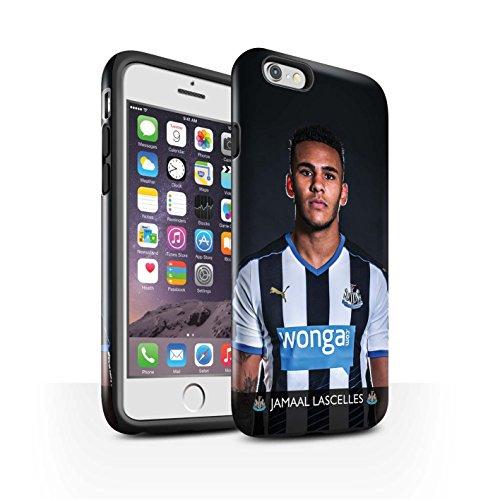 Officiel Newcastle United FC Coque / Brillant Robuste Antichoc Etui pour Apple iPhone 6 / Pack 25pcs Design / NUFC Joueur Football 15/16 Collection Lascelles