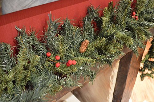 200cm-Christmas-Garland-with-Mixed-Berries