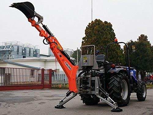 Usato, Retroescavatore universale per trattore, con benna usato  Spedito ovunque in Italia