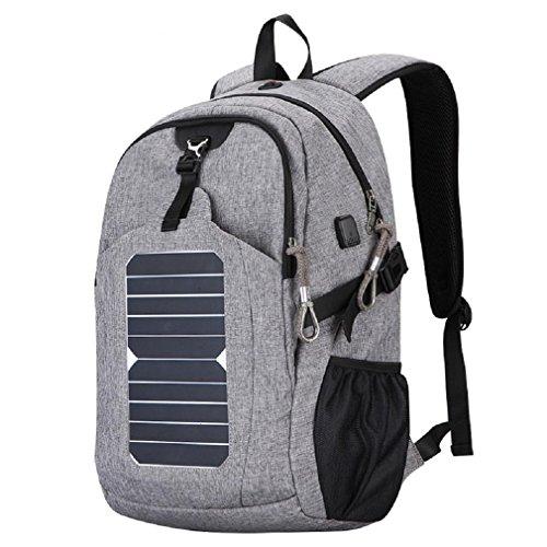 Pannello Solare Portatile Da Zaino : Gaojian zaino da ricarica solare sacchetti spalla all