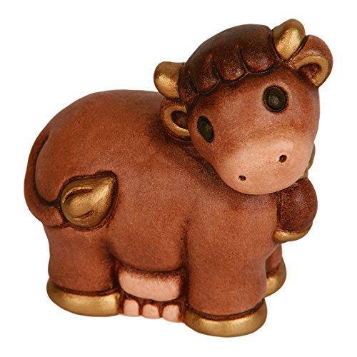 Thun mucca presepe classico, ceramica, variopinto