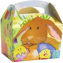 German Trendseller® - 12er Set Oster Geschenke Boxen mit Henkel zum Befüllen ┃ Geschenkebox ┃ Kindergeburtstag ┃ Oster boxen zum Verstecken und Verschenken ✔