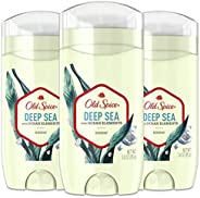 Old Spice Aluminum Free Deodorant for Men, Deep Sea With Ocean Elements Scent, Inspired by Natural Elements, 3