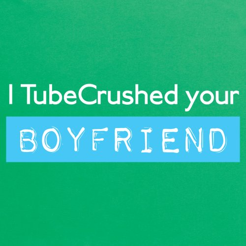 Tube Crush Boyfriend T-Shirt, Herren Keltisch-Grn