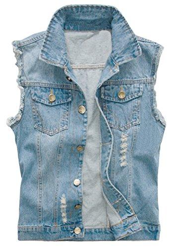 Kelmon - gilet - giacca - senza maniche - uomo blu medium